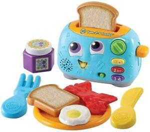 LeapFrog Yum-2-3 Toaster, Lernspielzeug mit Geräusche Und Farben Für Sensorische