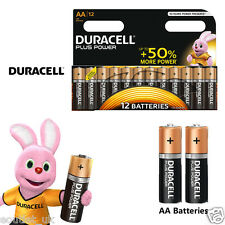 DURACELL MN1500B12 PLUS POWER MISURA AA BATTERIE ALCALINE Pack of 12 10 BATTERIA