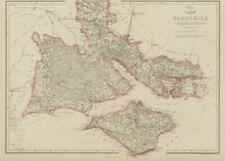 Portswood Reform Act Dawson 1832 Old Map Southampton Town/borough/city Plan