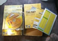 Final Fantasy XI Online Vana'diel Collection PC Game Complete