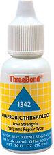 Threebond 1342 Low Strength Thread Lock 10ml