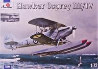 Amodel 72241 - 1/72 Hawker Osprey III/IV floatplane, scale plastic model kit