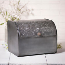Country Bread Box in Antique Tin Finish