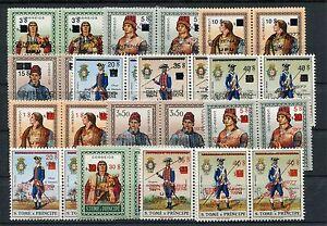 Sao Tome 464/83 a + b postfrisch / UPU - Uniformen ........................1/499