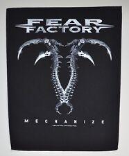 FEAR FACTORY - Mechanize - Backpatch - 29,7 cm x 36,3 cm - 164628