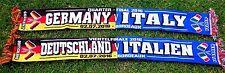 DEUTSCHLAND - Italien Schal + Boredeaux +  Spielschal EM 2016 BRD Germany NEU