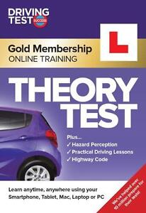 Online Theory Test Training - 3 Months Access - Driving Test Success 2020/21