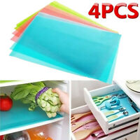 4x Multifunction Waterproof Refrigerator Antibacterial Antifouling Pad Mat Well