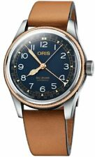 New Oris Big Crown Pointer Date Leather Strap Men's Watch 75477414365LS