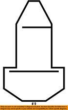 FORD OEM Interior-Coat Hook Screw W502660S424
