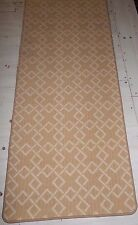 "31"" X 74""  HALLWAY RUNNER MADE IN USA 100% WOOL WOVEN NEW ."