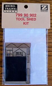 Z SCALE~VERY HARD TO FIND~MTL 799 90 902~TOOL SHED KIT~NEW IN PACKAGE