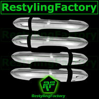 2013-2015 Ford Fusion Triple Chrome plated 4 Door Handle Cover kit set 13 14 15