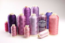 Marathon Viscose Rayon Embroidery machine thread:  1,000m x 1