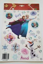 Fensterbilder Frozen Fenstersticker Weihnachten Anna, Elsa, Olaf Bogen 30x20 cm