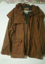 mens Kakadu Traders Australia Oilskin Cotton Jacket Coat