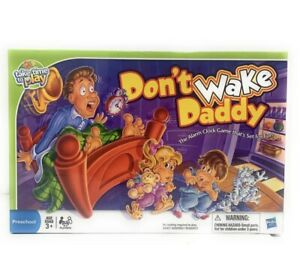 New 2011 Don't Wake Daddy The Alarm Clock Game that's Set for Fun Factory Sealed