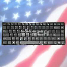 GENUINE ASUS 04GNV62KUS00-1 US KEYBOARD WITH BLACK FRAME