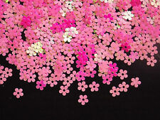 SEQUINS 5MM FLAT FUCHSIA AB FLOWER TABLE SCATTERS 10 grams 1600pcs