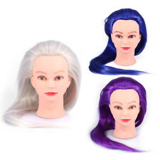 24'' Synthetic Fiber Hairdressing Training Head Cosmetology Mannequin Hot Sale