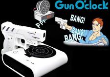 LCD Laser Gun Shooting Target Wake UP Alarm Desk Clock Novelty Gadget Fun Toy
