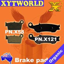 FRONT REAR Brake Pads YAMAHA YZ 250 2008 2009 2010 2011 2012 2013 2014 2015 2016
