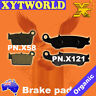 FRONT REAR Brake Pads YAMAHA YZ 250 2008 2009 2010 2011 2012 2013 2014 2015 2016