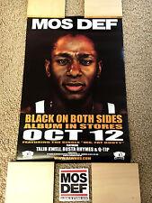 "Mos Def ""Black On Both Sides"" Promo 1999 Pack! (Talib Kweli, Black Star)"