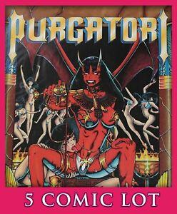 Purgatori 5 Comic Lot Lady Death Chaos Comics