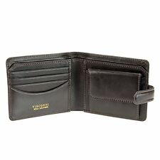 Visconti Tuscany 47 Secure RFID Blocking Genuine Leather Wallet (Brown)