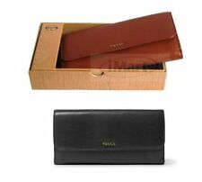 Fossil Leather Clutch Wallets for Women