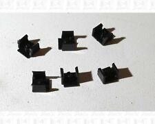 Athearn HO Parts: Plastic Diesel Locomotive Coupler Clips Covers (6) 90606