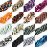 Lots New Round Agate Gem Charming Loose Spacer Beads Jewelry Findings Crafts Hot