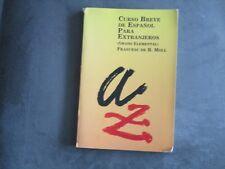CURSO DE ESPANOL PARA EXTRANJEROS cours d'espagnol pour français dictionnaire