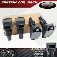 4x Ignition Coils for Mazda RX-8 RX8 SE3P Series 2003-2012 4 Cyl 1.3L 13B