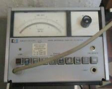 Hp 3406a Broadband Sampling Voltmeter Vintage Test Equipment Untested With Probe