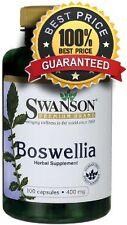 Boswellia 400 mg x 100 Capsules Swanson Inflammation ** AMAZING PRICE **