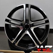 "21"" Split 5 Spoke Style Machined Black Wheels Rims Fits Mercedes AMG ML GL 5x112"
