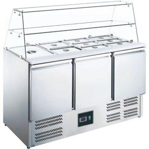 Saladette Gastro Belegstation Kühltisch Pizzakühltisch gekühlt - ZORRO ZS 903 G