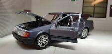 1:24 Model Ford Sierra Sapphire Ghia Blue Schabak 2.0i 1:25 Boxed Rare! Cosworth