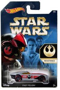 2015 Hot Wheels Disney Star Wars #7 Fast Felion Resistance