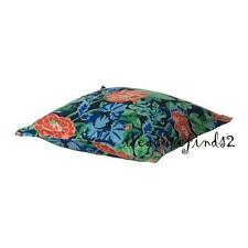 "Set of 2 Cushion Covers EMMIE PARLA Pillow Covers Cotton Velvet Floral 20x20"""