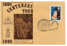 Ashes Cricket Centenary 1980 Cover With Special Postmark - Rare