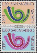 San Marino 1029-1030 (compleet.Kwestie.) postfris MNH 1973 Europa