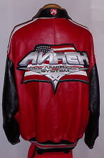 "AVIREX ""USA"" NEW YORK "" LEATHER Jacket/Coat**5XL***$750***EXCELLENT!"