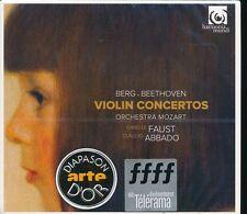 Isabelle Faust Claudio Abbado Violin Concertos Berg CD NEW