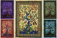 Tree of life Wall Hanging Indian Mandala Tapestry Throw Bohemian Wall Dorm Decor