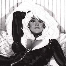 ADAM HUGHES Signed SKETCHBOOK Oh Wow SDCC 2009 Black Cat SIGNED Baroness ZATANNA