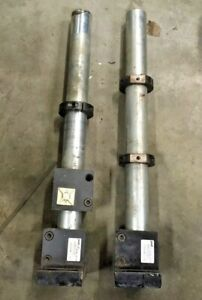 """Qty2 PHD 212 13230-1-1-18 STANCHION 1-1/2"""" SINGLE SHAFT BASE ASSEMBLY 18"""" HEIGHT"""