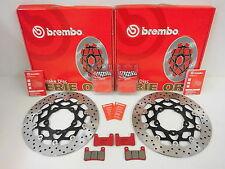 Brembo Bremsscheiben Bremse vorne + Sinter Bremsbeläge Suzuki GSX-R 600 750 1000